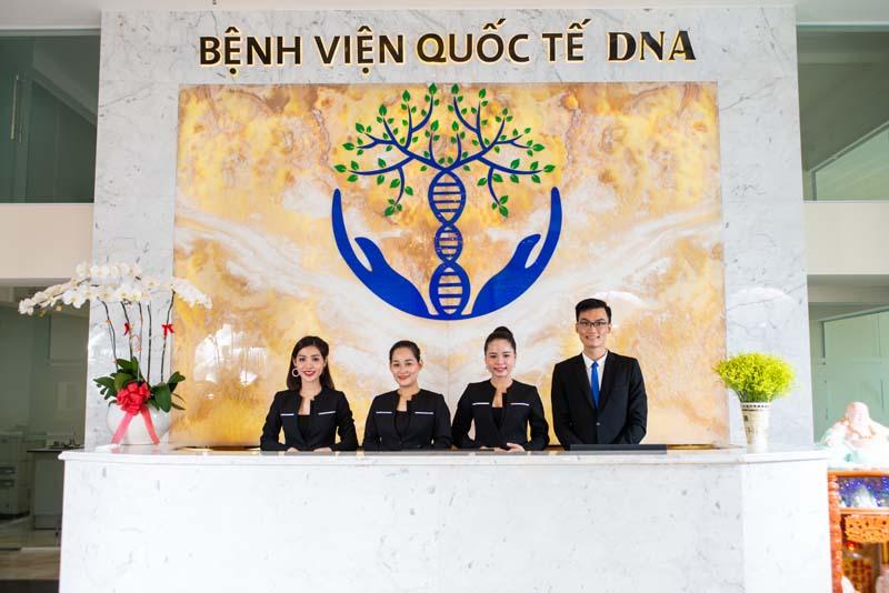 lễ tân DNA