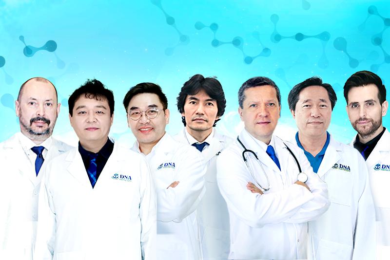 đội ngũ viện tế bào gốc DNA