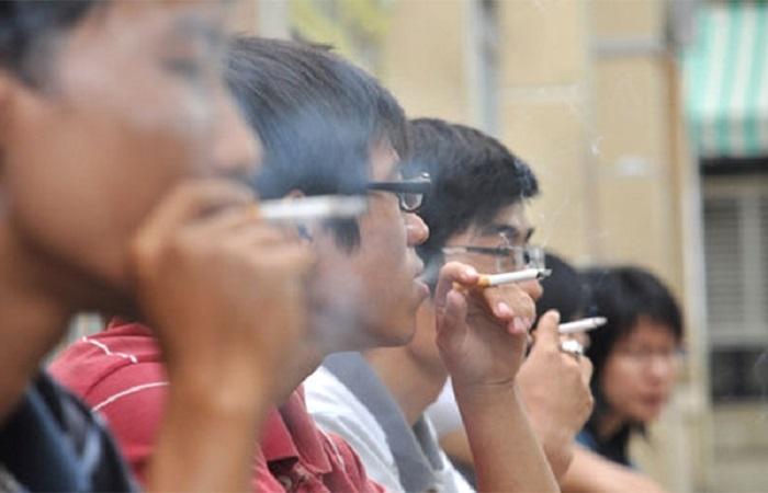 thực trạng hút thuốc lá ở Việt Nam