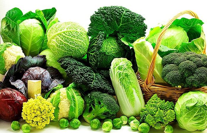 rau xanh giúp làm giảm nguy cơ mắc ung thư phổi