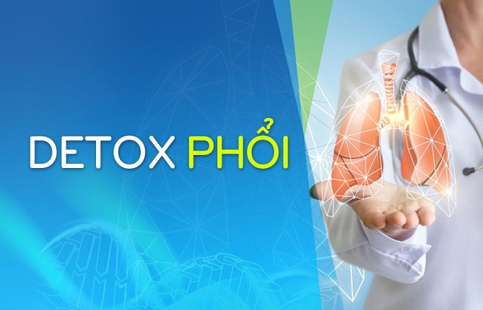 detox phổi, liệu trình thanh lọc thải độc phổi
