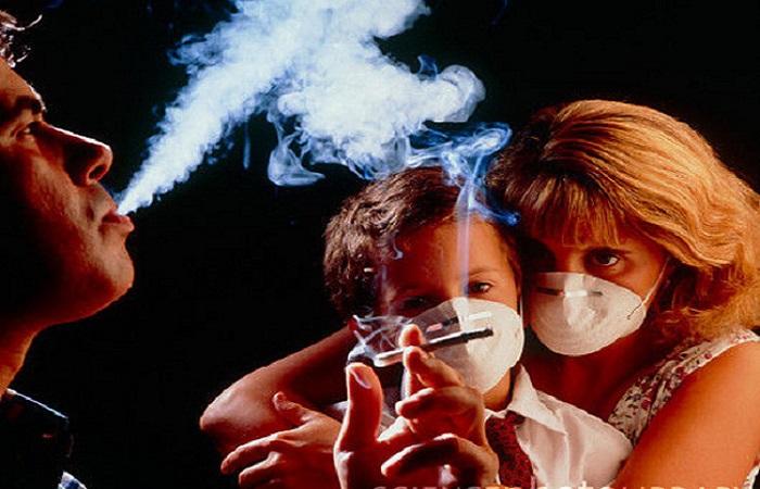 nạn nhân của hút thuốc lá thụ động