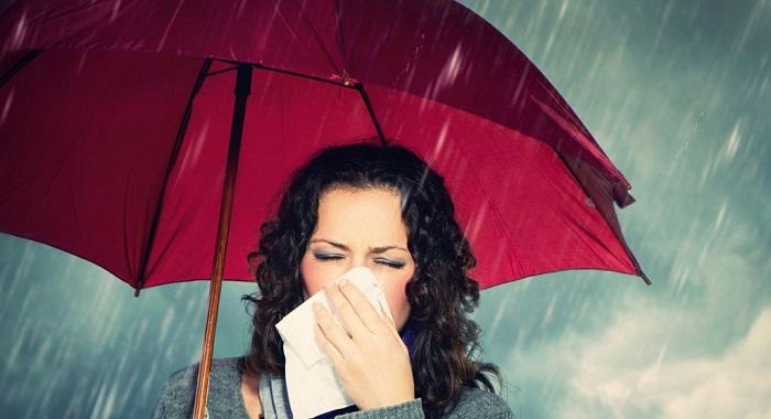 Thời tiết thay đổi gây nên nhiều các bệnh về khớp
