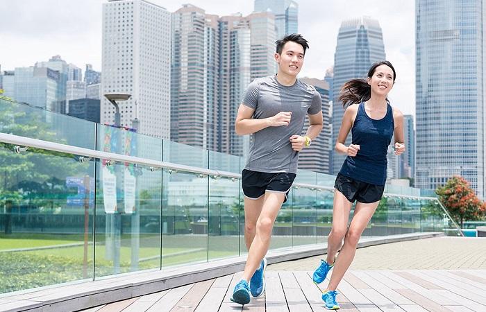 chạy bộ giúp giảm cân giảm mỡ