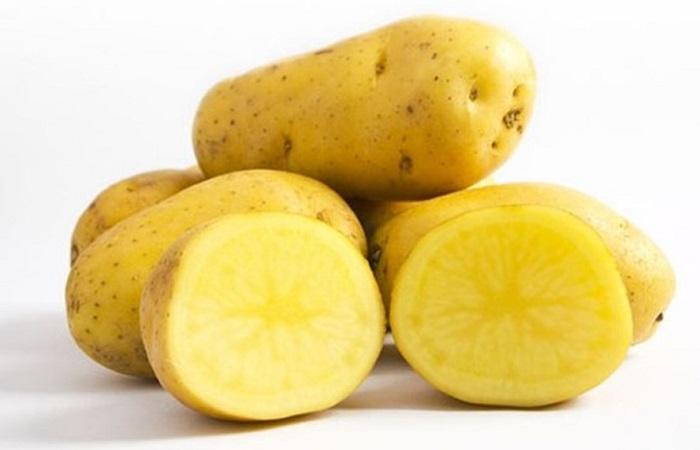chăm sóc da mặt bằng khoai tây