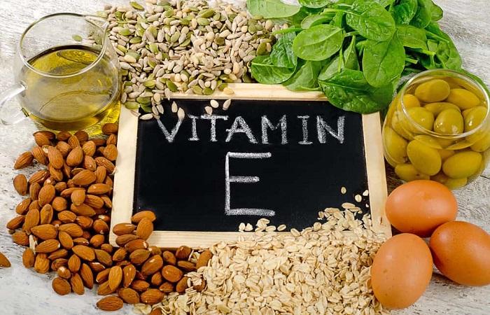 vitamin E, thực phẩm chứa vitamin E giúp trị khô rát âm đạo