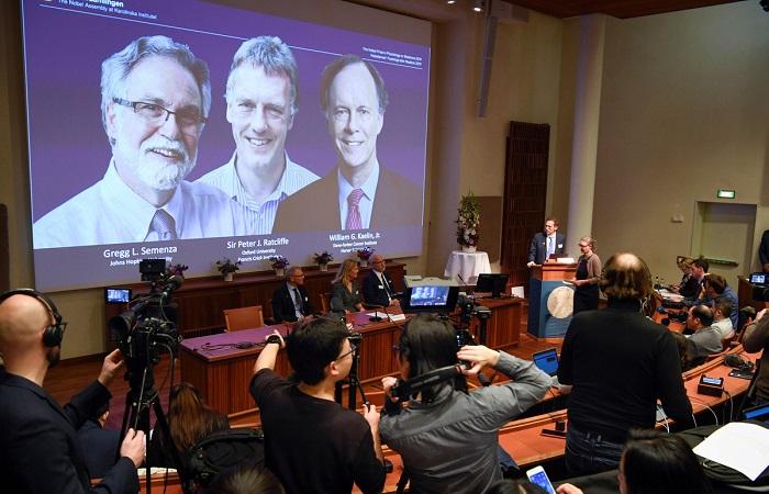3 nhà khoa học đạt giải nobel y sinh 2019
