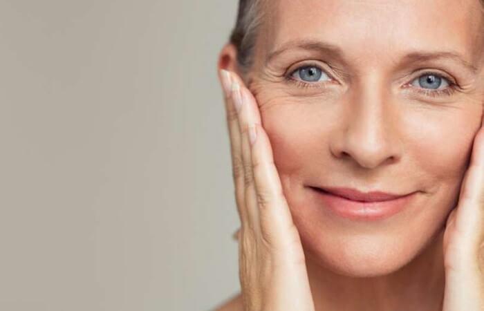 tuổi tác cao khiến da hư tổn
