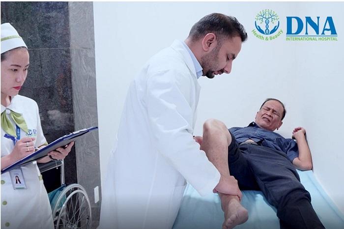 Điều trị viêm màng hoạt dịch tại Bệnh viện quốc tế DNA