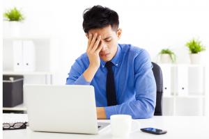cơ thể mệt mỏi khiến hiệu suất công việc giảm