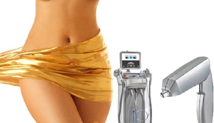 máy laser giúp thu nhỏ vùng kín