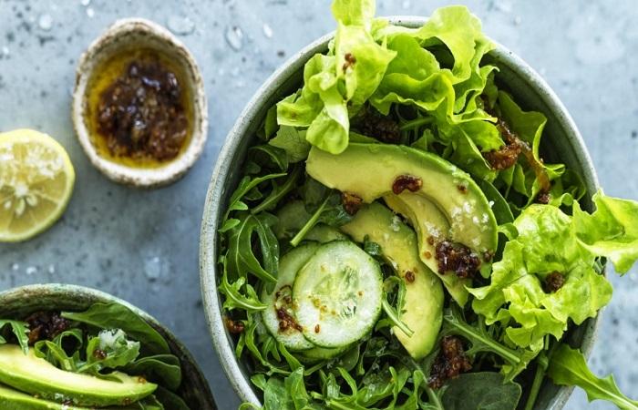 salad rau xanh giúp giảm cân hiệu quả