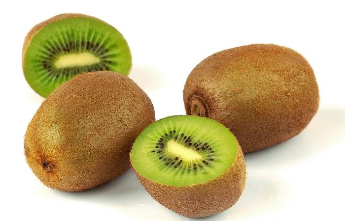 kiwi là trái cây ôn đới giúp giảm cân hiệu quả