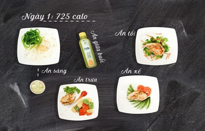 giảm cân sau sinh bằng thực đơn ăn kiêng