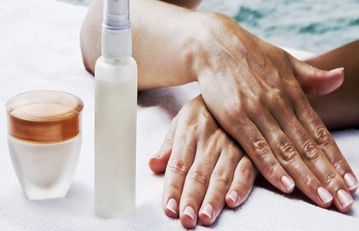 chất tẩy rửa gây hại làm da tay bị đen nhanh chóng