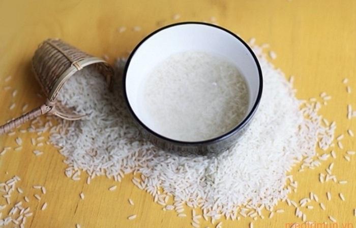 Trị thâm vùng kín bằng nước vo gạo