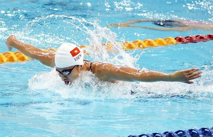 bơi lội giúp giảm mỡ bụng nam