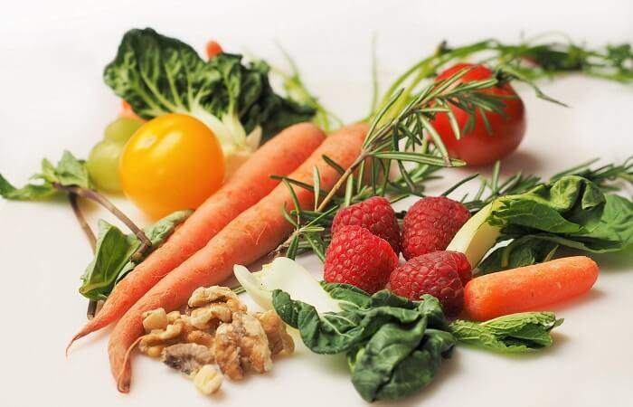 Hoa quả và rau xanh tốt giảm cân và sức khỏe