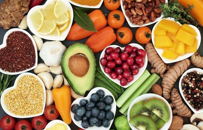 một số thực phẩm tốt cho việc giảm béo